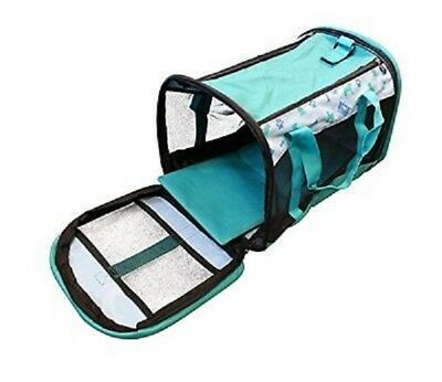 New Pet Cat Kitten Dog Rabbit Carrier Kennel Travel Transport Cage Vet-Foldable