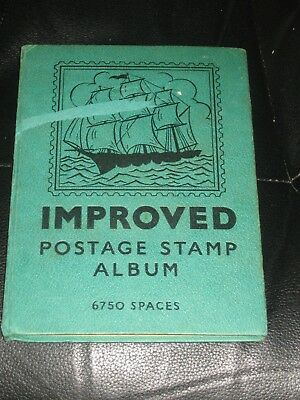 world stamps in improved stamp album