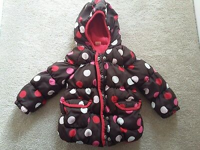 girls coat age 12-18 months