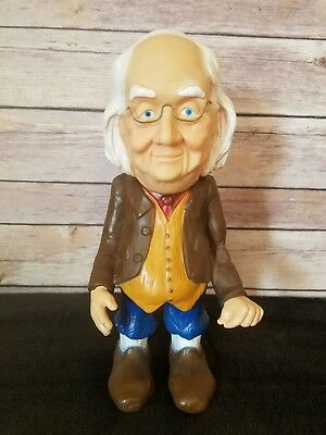 Benjamin Franklin coin bank The Benj. Franklin piggy bank vintage plastic
