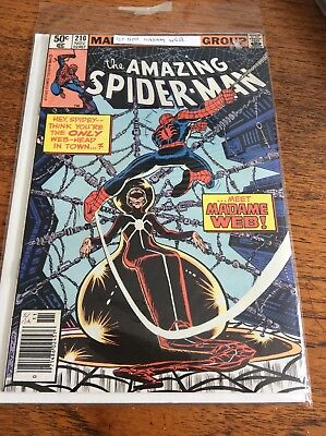 Marvel Comic The Amazing Spider-Man Issue 210 November 1979