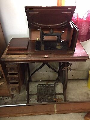 Antique Elias Howe Sewing Machine