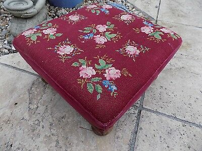 Fabulous Victorian Foot Stool