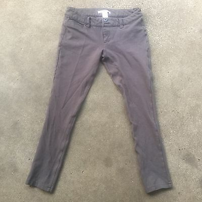 CHARLOTTE RUSSE Womens Size S Career Casual Dress Pants Gray Skinny Stretch