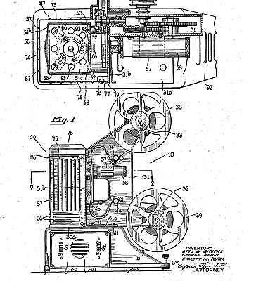 Motion picture camera & ...: Universal Camera Co..: Hist. infos 1933-50