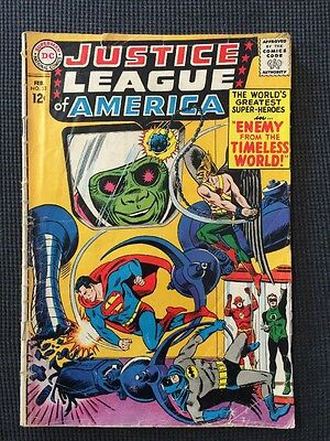 Justice League of America #33 Silver Age 1963 Gd/Vg