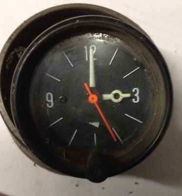 Classic Car 52mm Dashboard Analogue Time Clock 12v Suit MG Mini TR6 Japanese