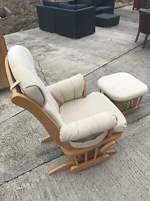 soothing chair for mom and baby that rocks.