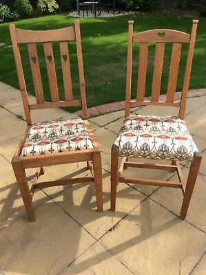 Arts and Crafts Liberty Chairs