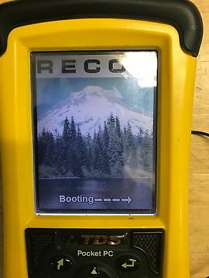 TDS Recon Survey Data Collector N324 Tested, working, No Battery, with case