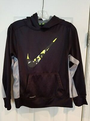 NIKE THERMA FIT KIDS HOODED SWEATSHIRT - SIZE L large