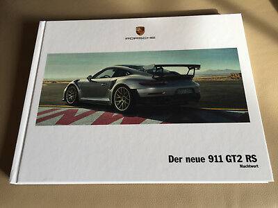 porsche gt2 rs katalog 2017 prospekt buch hardcover neu. Black Bedroom Furniture Sets. Home Design Ideas