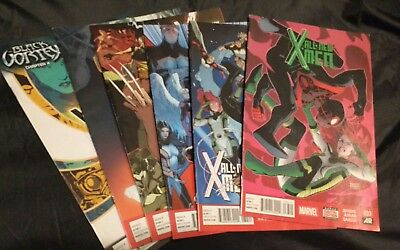 All New X-Men Comic Book Lot #33-38 Marvel Dec 2014 - April 2015 Spider-man