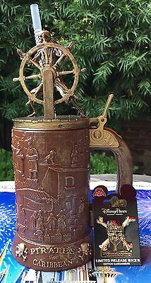 Pirates Of The Caribbean Stein Dead Men Tell No Tales Pin Disney Parks Exclusive