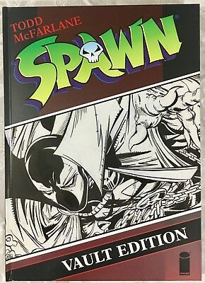 Spawn Vault Edition Oversized Hardcover HC, Signed by Todd McFarlane! Image
