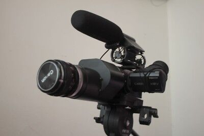 Pro Videography setup, Video Camera CANON HV30 Letus 35 mm Adapter, Prime Lenses