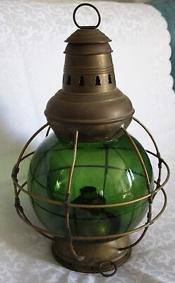 Perko Perkins Brass Ship Lamp 8 -  Schiffslampe, Messing, Laterne