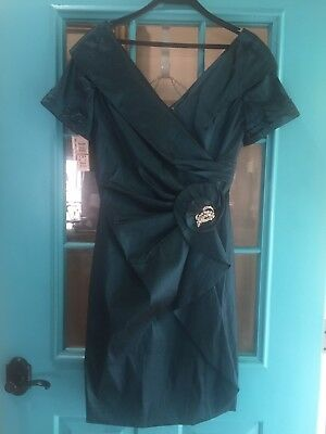 JADE COUTURE Mother of the Bride/Formal Dress Size 12 Retail $288 NEW With Tags