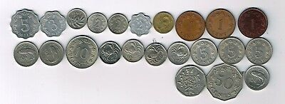 23 different coins from Malta : 1972 - 2001