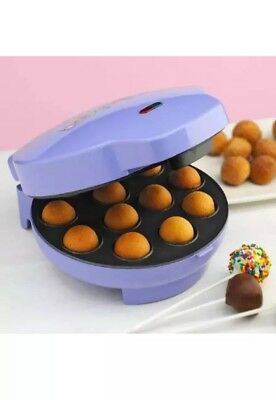 NIB Babycakes CP-12 Electric Cake Pop Maker 12 Cake Stick Doughnut Holes
