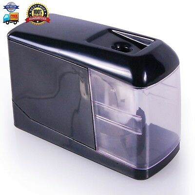 Electric Pencil Sharpener (2017 Model) Automatic Battery Operated - for Home or