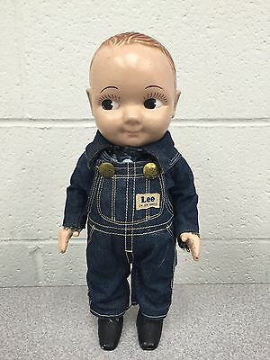 Vintage 1950's Lee Denim Buddy Lee Advertising Doll Great Condition