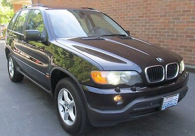 2002 BMW X5 4WD SUV Clean 1 owner BMW X5 SUV 4WD Loaded 3.0L Auto 4X4 winter package low miles M5