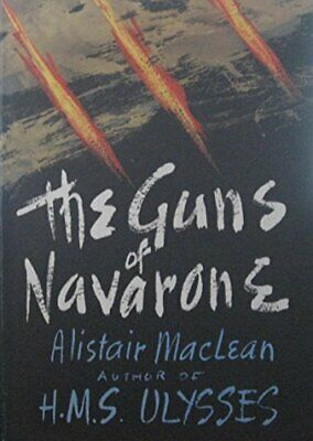 The Guns of Navarone by MacLean, Alistair Hardback Book The Cheap Fast Free Post