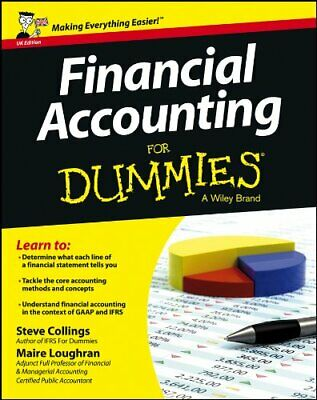 Financial Accounting For Dummies (UK Edition) by Loughran, Maire Book The Cheap