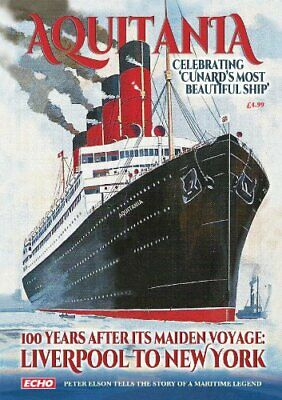Ship Beautiful - 100 Years of Cunard's Aquitania by Vicky Andrews Book The Cheap