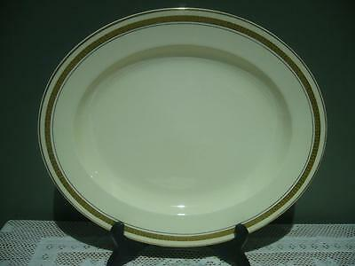 Vintage Burleigh Ware Art Deco Small Platter / Serving Plate - England - Gc