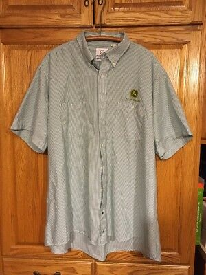 John Deere Service Shirt 3xl Button Down