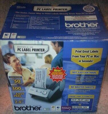 Brother QL-500 Label Thermal Printer Brand New in the Box !