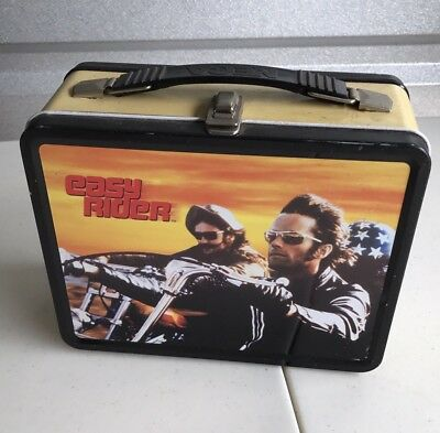 2003 Easy Rider Motorcycle Metal Lunchbox W/ Thermos Brand New