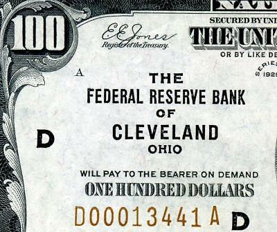 HGR 1929 $100 FRBN ((LOW Serial#)) Appears CHOICE UNCIRCULATED
