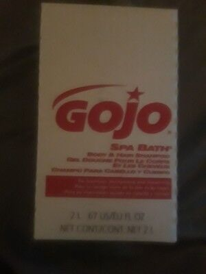 Gojo Spa Bath  Sold by the case of 4 2L 67fl oz boxes