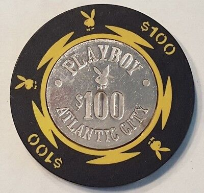 PLAYBOY Casino Atlantic City $100 Poker Chip