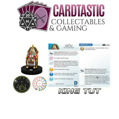 King Tut Batman Classic TV - Heroclix