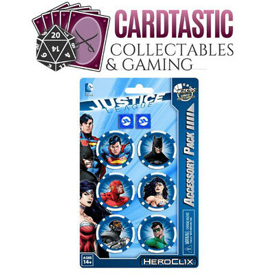 Heroclix Justice League Dice and Token Pack