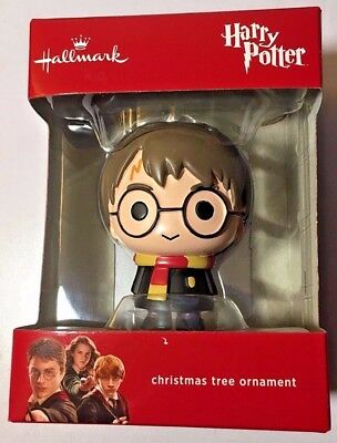 Harry Potter Hallmark Exclusive Christmas Tree Ornament 2017 Brand FREE SHIPPING