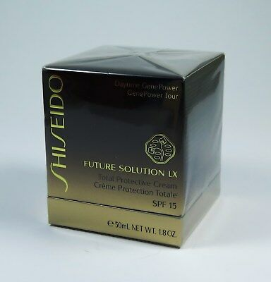 SHISEIDO FUTURE SOLUTION LX TOTAL PROTECTIVE CREAM 50ml NEU/OVP Folie