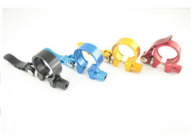 Bike Bicycle Cycling Quick Release Seat Post Seatpost Clamp 31.8mm 5 Color
