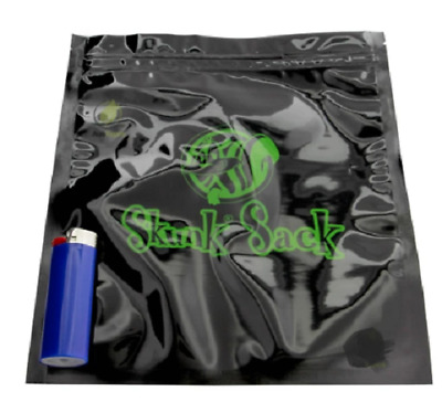 Skunk Sack Storage Bags Smell Proof Bag Bags Stealth Tobacco X Large 21.5x25.5cm