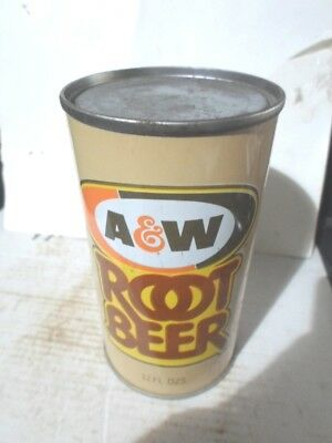 """A&w Root Beer -""""""""mistake""""""""- Straight Sided Steel Soda Can / Pop Can"""