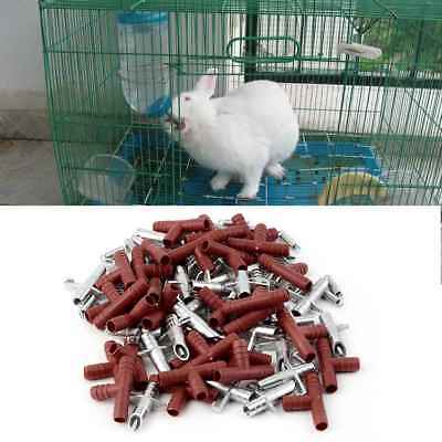 30pcs/lot Automatic Nipple Water Feeder Drinker Waterer For Rabbit Mouse Rodents