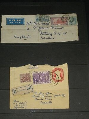 40 x india fdcs,post cards,envelopes with stamps