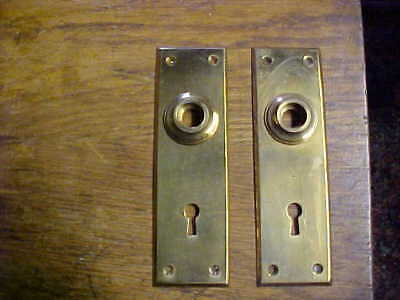 Vintage Brass Door Plates - Never Used