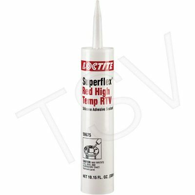 Loctite Superflex Red High Temp RTV Sealant 300ml