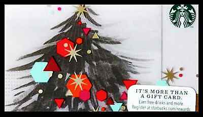 STARBUCKS Limited Edition TREE Holiday Gift Card 2014 New No Value