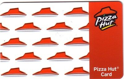 Collectible Pizza Hut 2008 Gift Card English ..no Value